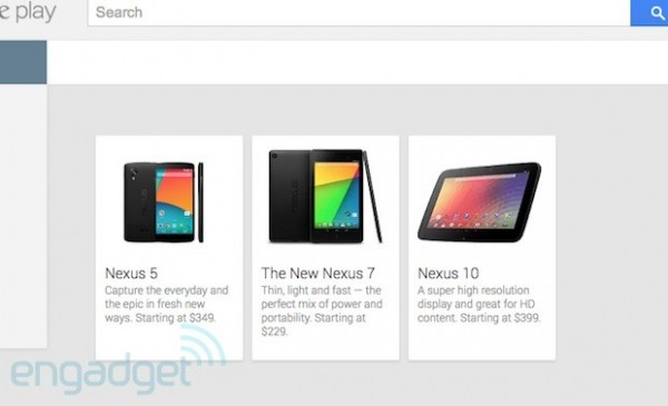Nexus 5 on play store 1