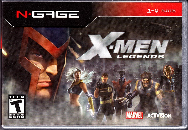 Nokia N-Gage X-Men Legends Front Cover