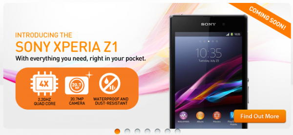 U Mobile Xperia Z1