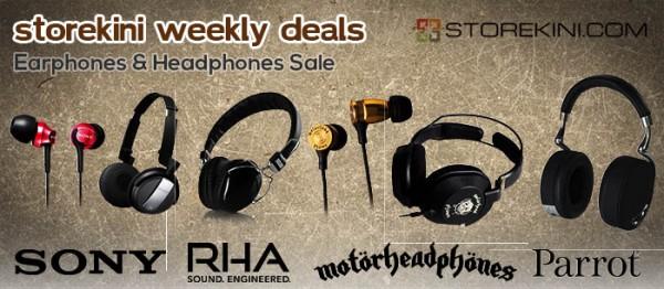 Weekly Deals - Headphones 700px