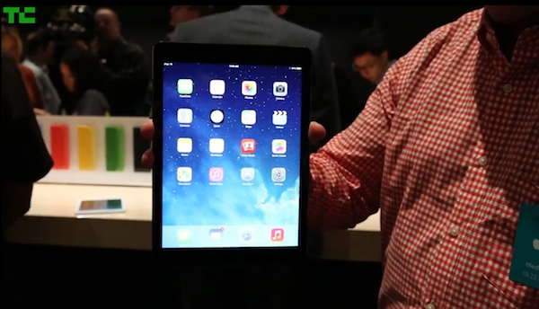 iPad Air Held in One Hand