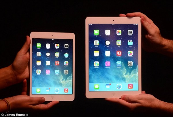 iPad mini with Retina and iPad Air