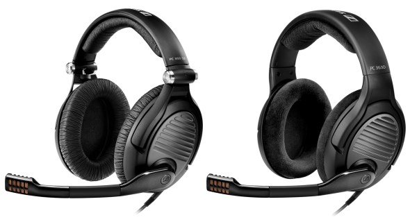 Sennheiser PC 350 SE and PC 363D Surround Sound Gaming Headsets