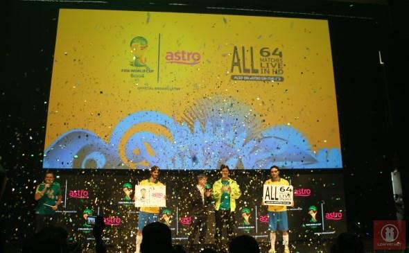 Astro 2014 FIFA World Cup Coverage Launch