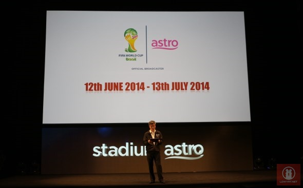 Astro 2014 FIFA World Cup Coverage Launch