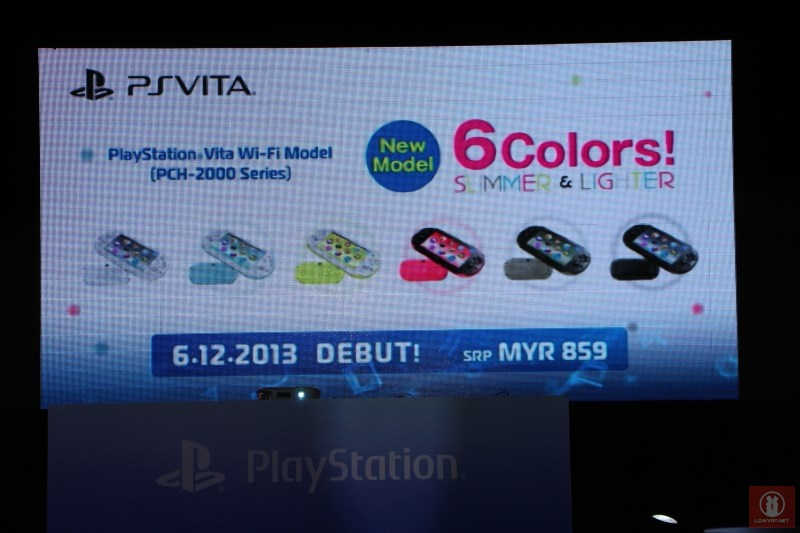 PlayStation Vita Slim Malaysian Launch