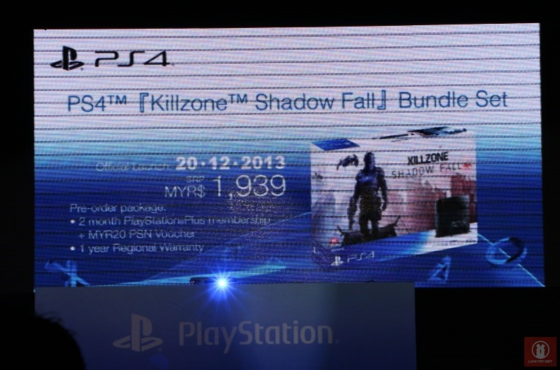 PlayStation 4 Killzone: Shadow Fall Bundle