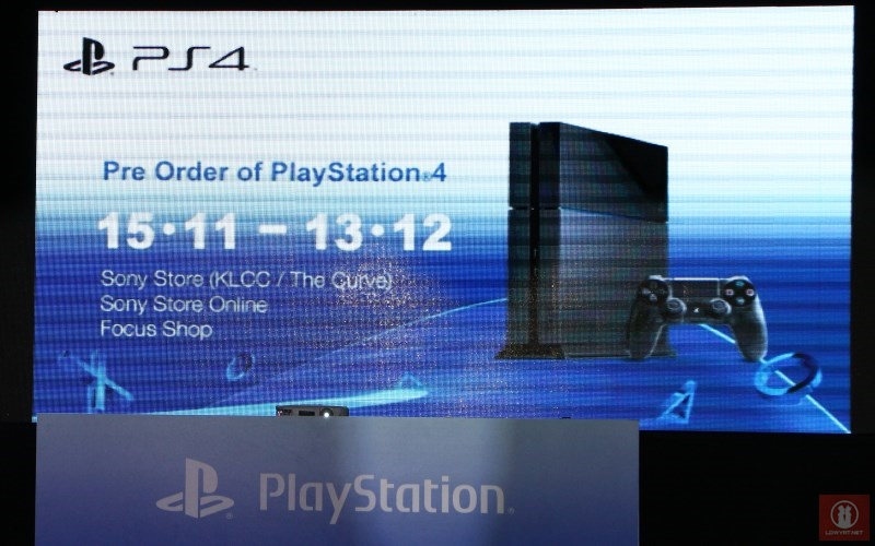 Pre-Order for PlayStation 4 In Malaysia