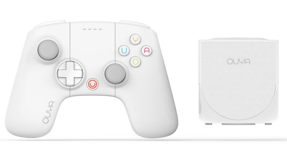 Ouya Limited Edition White Console