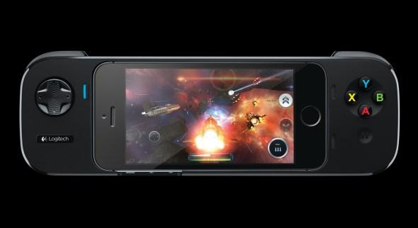 Logitech Powershell Controller + Battery for iPhone 5