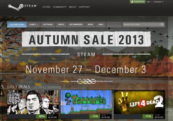 Steam Autumn Sale 2013