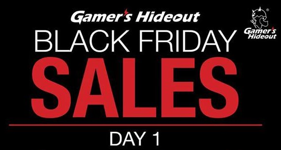 Gamer's Hideout Black Friday Sales