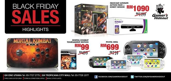 Gamer's Hideout Black Friday Deal Example