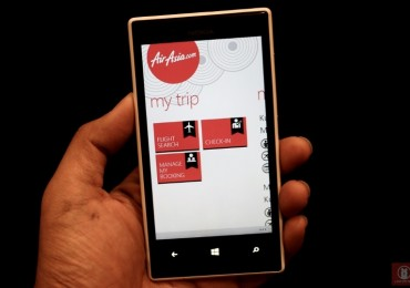 AirAsia App for Windows Phone 07