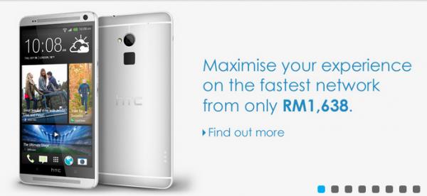Celcom HTC One Max
