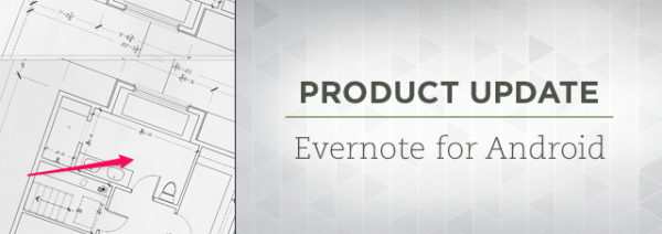 Evernote Android Update
