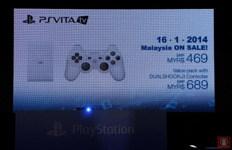 PlayStation Vita TV Malaysian Press Conference