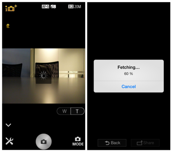 QX Transferring Pictures to phone