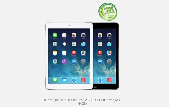 iPad Air 4G - Maxis