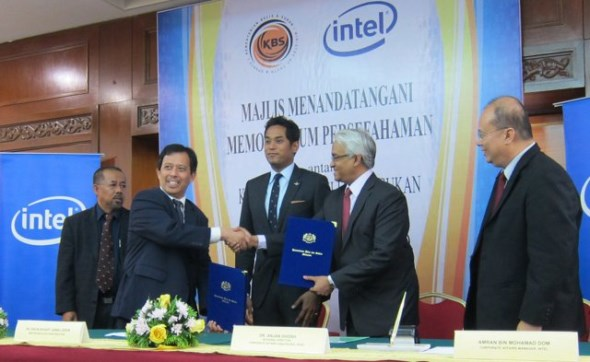 Intel Malaysia - Ministry of Youth and Sports MoU Signing