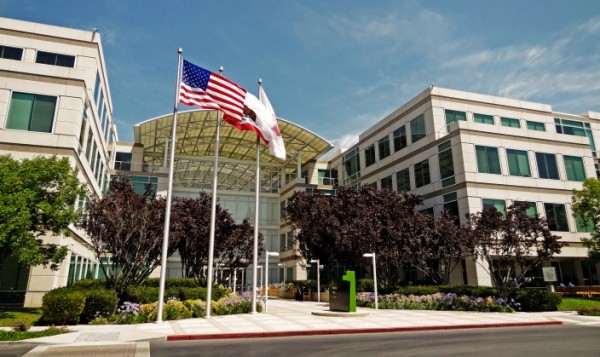 Apple HQ in Cupertino