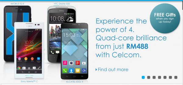 Celcom quad-core promo main