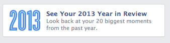 FB Year in Review Link