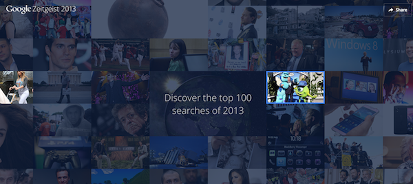Google Top 100 Searches of 2013