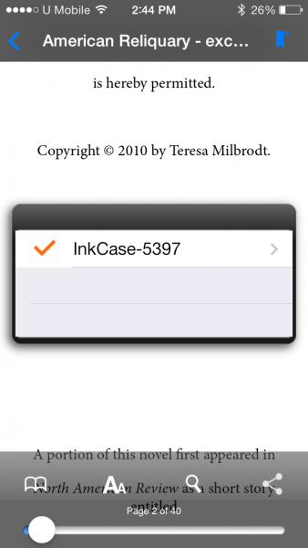 InkCase Epireader 3