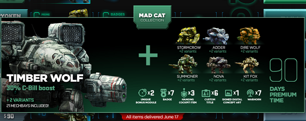 Mad Cat Collection
