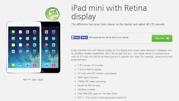 Maxis iPad mini RD