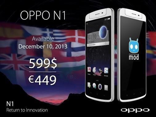 Oppo N1 10 December 2013