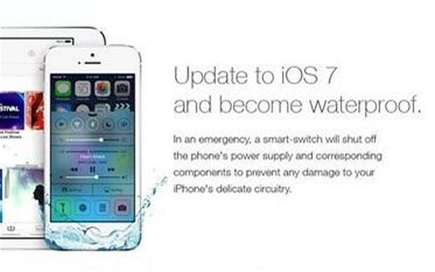 iOS7 waterproof