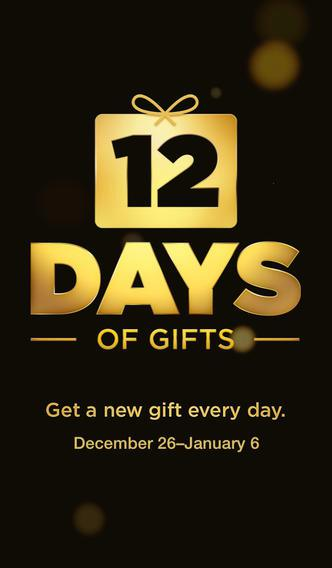 iTunes 12 days of gift