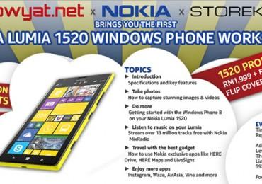 Lowyat.NET x Storekini x Nokia Malaysia Lumia 1520 Workshop