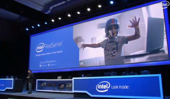 Intel RealSense CES 2014