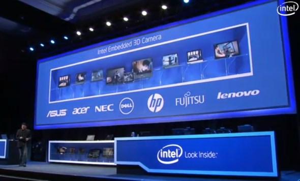 Intel RealSense Camera CES 2014