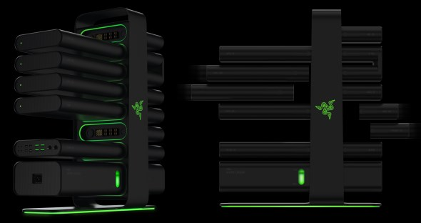 Razer Project Christine Modular PC Design