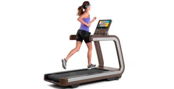 Technogym Google Glass Controlled Treadmill