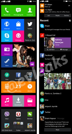 Nokia Normandy UI