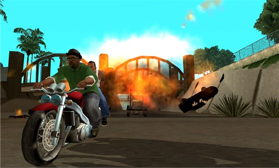 Grand Theft Auto: San Andreas for Windows Phone 8