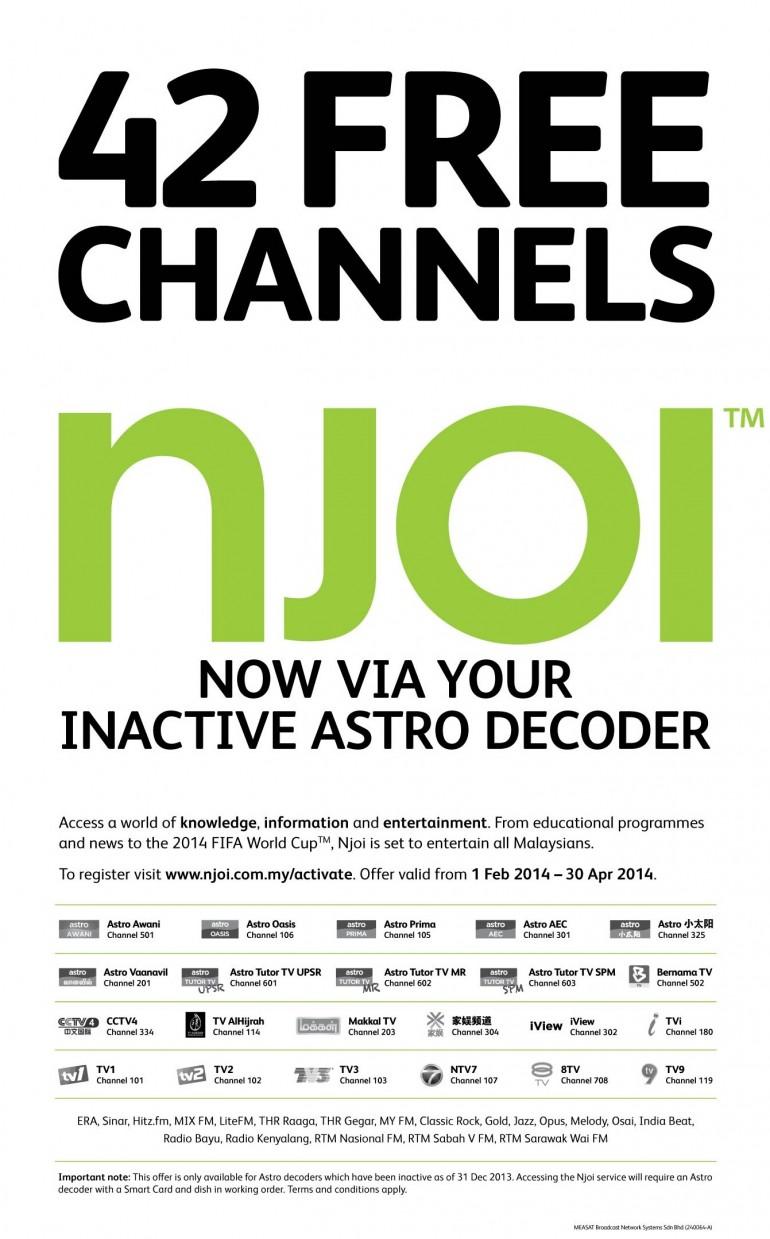 Astro Njoi Customer Service