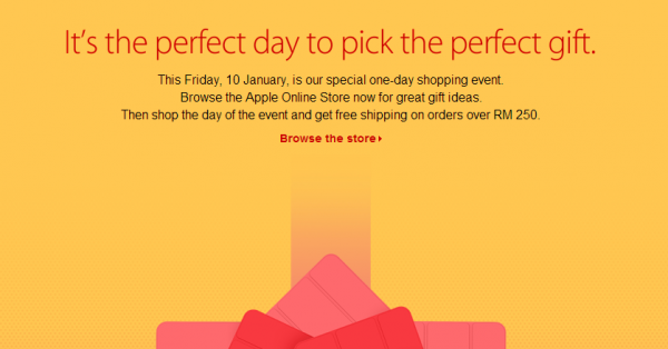 Apple One Day Shopping Event Malaysia