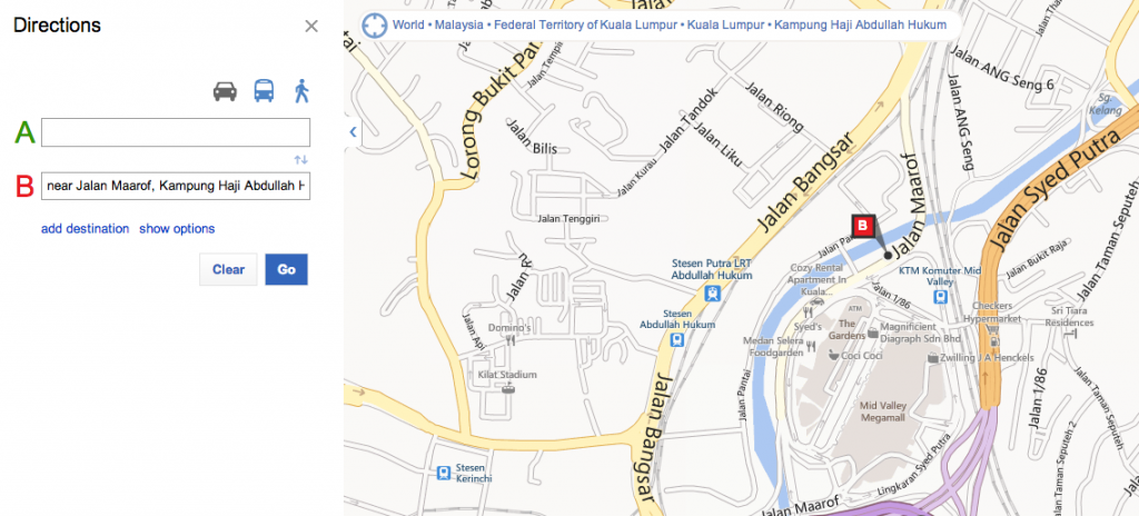 Bing Maps Showing my Location in MV