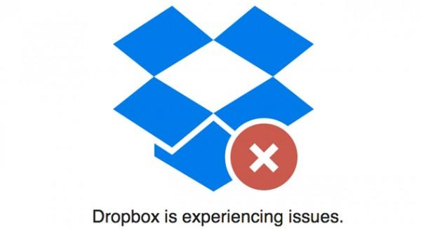 Dropbox Outage