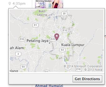 Facebook Messenger Get Direction