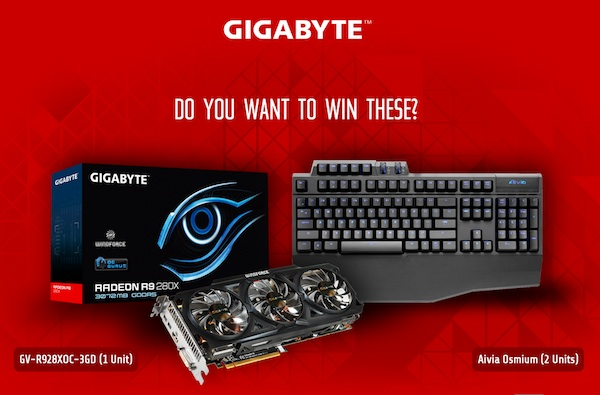 Gigabyte contest
