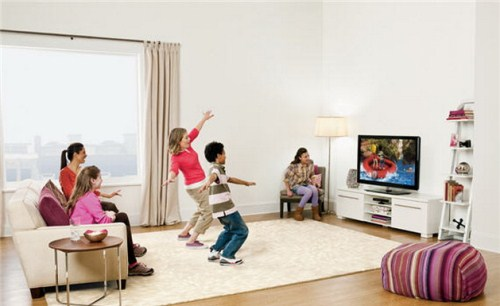 Kinect-gesture-control-TV