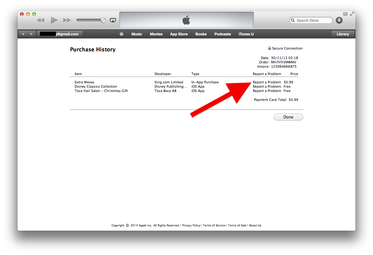 Report a Problem To Get a Refund From The Apple App Store or ...