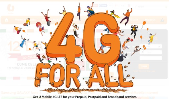U Mobile 4G for all